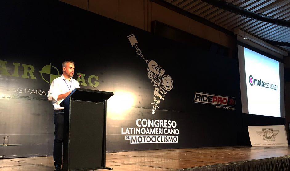 Motoescuela participa en el Congreso Latinoamericano del Motociclismo